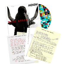 MENEW - Wide Awake Hello fan pack CD and Lyrics