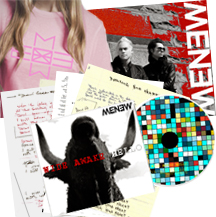 MENEW - Wide Awake Hello fan pack
